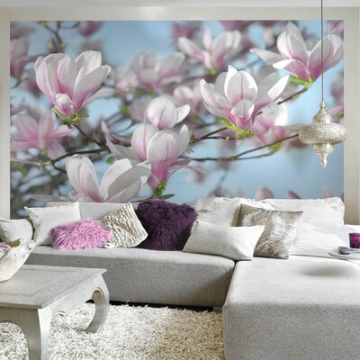Brewster home fashions komar magnolia wall mural reviews for Brewster home fashions wall mural