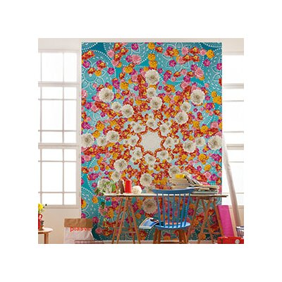 Brewster home fashions komar happiness wall mural wayfair for Brewster home fashions komar wall mural