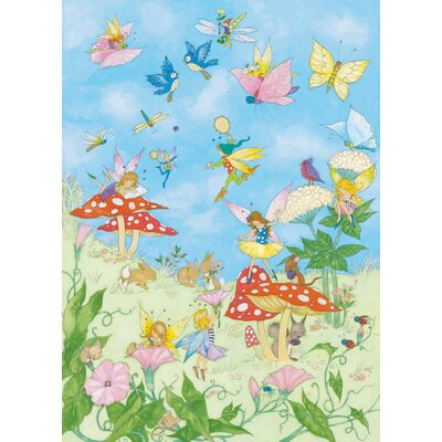 Brewster home fashions ideal decor fairy tales wall mural for Brewster birch wall mural