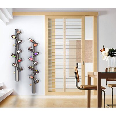 Decorpro 10 Bottle Wall Mounted Wine Rack