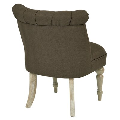 Ave Six Aubrey Tufted Slipper Chair