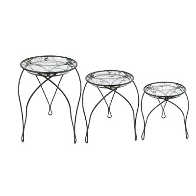 Plastec Elegance Plant Nesting Tables
