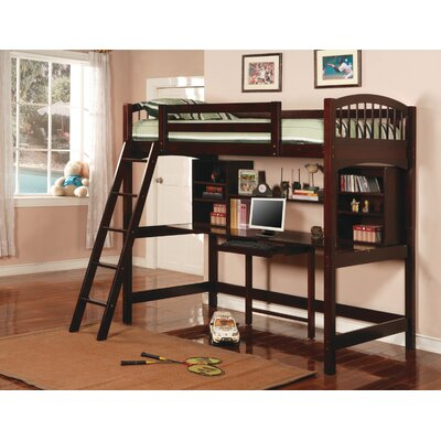 Wildon Home ® Dorena Twin Low Loft Bed