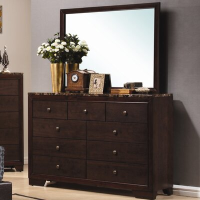 Wildon Home ® Annetta South 9 Drawer Dresser wi..