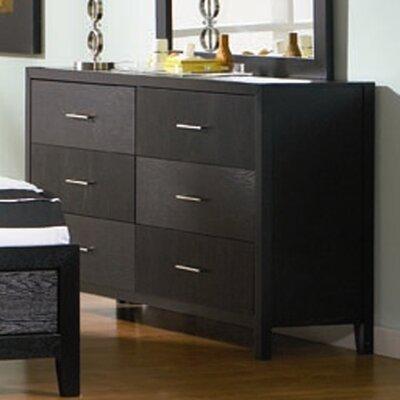 Brayden Studio DeBary 6 Drawer Dresser
