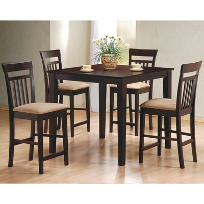 Red Barrel Studio St. Brigid 5 Piece Counter Height Dining Set