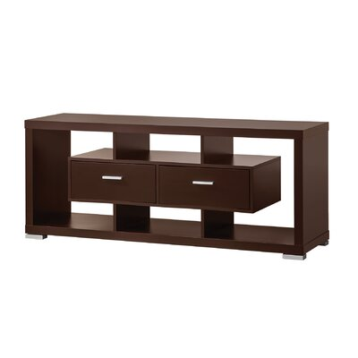 Wildon Home ® TV Stand in Cappuccino