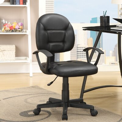 Wildon Home ? Low-Back Task Chair with Arms