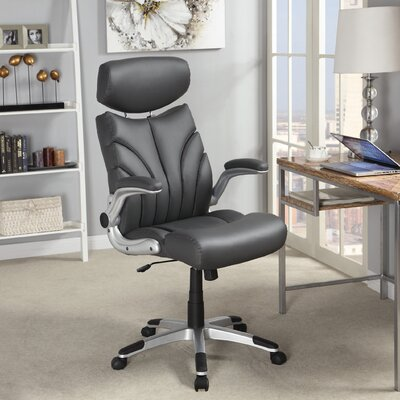 Wildon Home ® High-Back Executive Office Chair with Arms