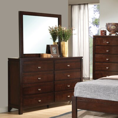 Wildon Home ® Cameron 8 Drawer Dresser w..
