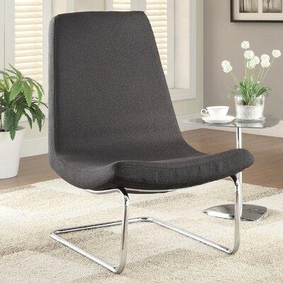 Wildon Home ? Slipper Chair in Black