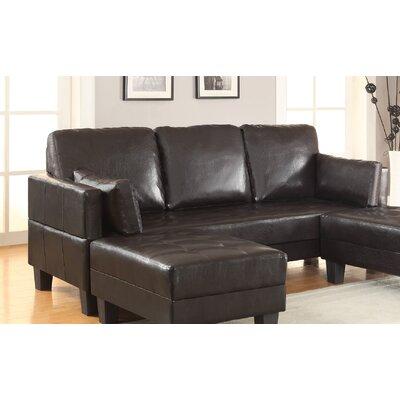 Wildon Home ® Sleeper Sofa & 2 Ottomans