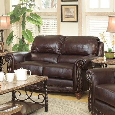 Wildon Home ® Leather Lov..