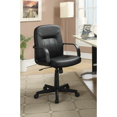 Wildon Home ® Leather Office Chair