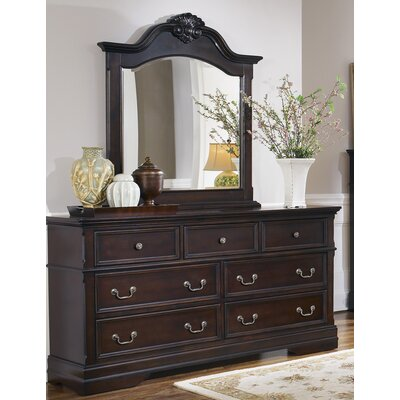 Wildon Home ® 7 Drawer Dresser with Mirror