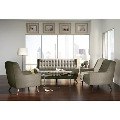 Wildon Home ® Modern Loveseat