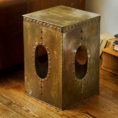 Wildon Home ® Square Rivet Stool
