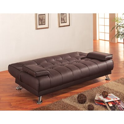 Wildon Home ® Sleeper Sofa in Rich Brown