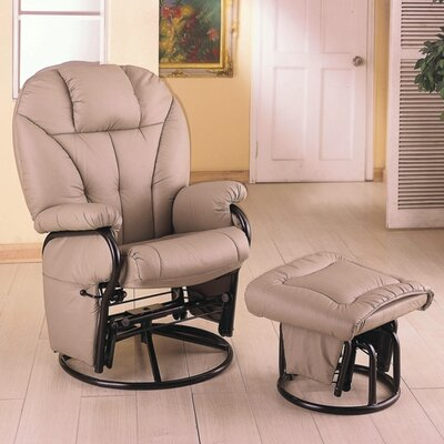 Wildon Home ® Glenwood Swivel Glider and..