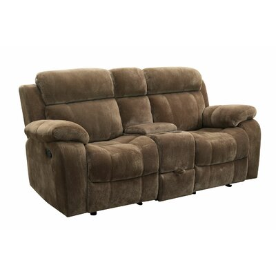 Wildon Home ® Victor Double Reclining Loveseat