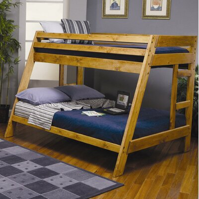 Wildon Home ® San Anselmo Twin over Full Bunk Bed