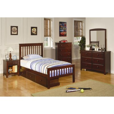 Wildon Home ® Perry Twin Slat Customizable Bedroom Set