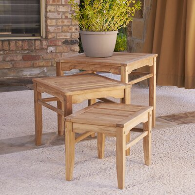 Wildon Home ® Smiths 3 Piece Nesting Tables