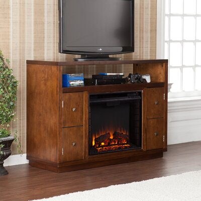 Wildon Home ® Brentford TV Stand with Electric Fireplace