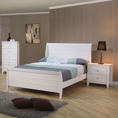 Beachcrest Home Clarendon Sleigh Customizable Bedroom Set