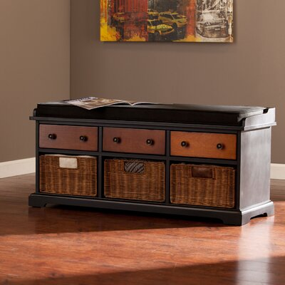 One Allium Way Mattheo Storage Bench