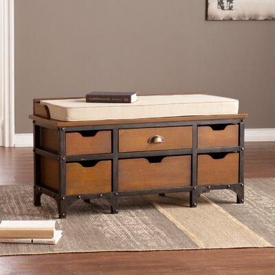 Trent Austin Design Beloit Wood Storage Bench