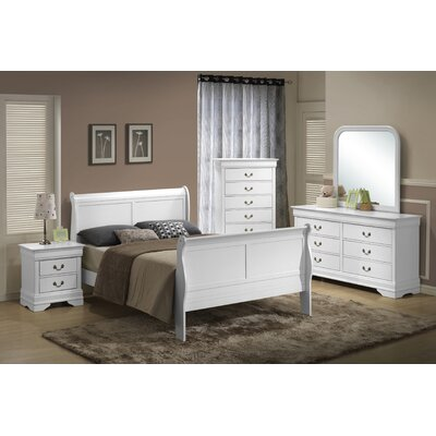 Wildon Home ® Louis Twin Panel Customizable Bedroom Set