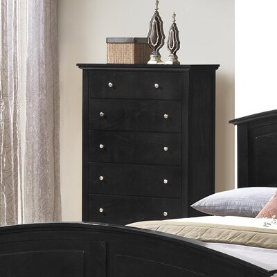 Wildon Home ® Whiskey 5 Drawer Chest