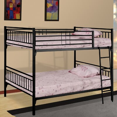Wildon Home ® Twin Over Twin Bunk Bed