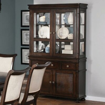 Wildon Home ® Hanover China Cabinet