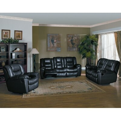 Wildon Home ® Fairbanks 3 Piece Reclining Sofa, Loveseat and Chair Set