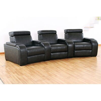 Wildon Home ® Meadows Home Theater Recliner (Row of 3)