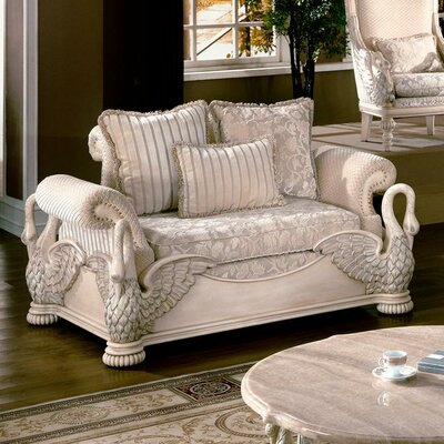 Wildon Home ® Avignon Swan Loveseat