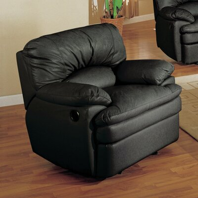 Wildon Home ® Haines Top Grain Leather Recliner