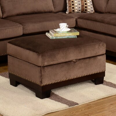 Wildon Home ® Opulence Storage Ottoman