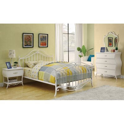Brayden Studio Twin Panel Customizable Bedroom Set Image