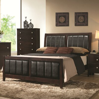 Wildon Home ® Carlton Upholstered Panel Bed
