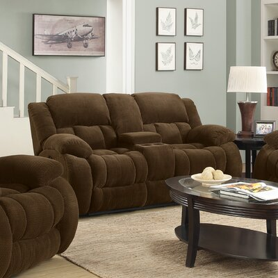 Wildon Home ® Panda Motion Reclining Loveseat