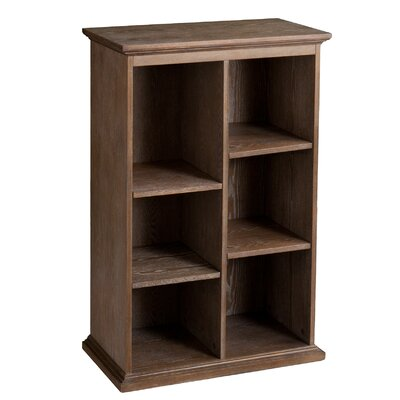 Darby Home Co Tillson Burnt Oak Display Shelf 45