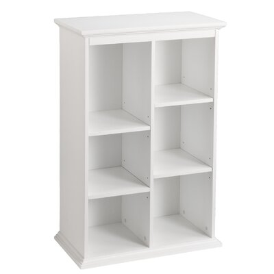 Darby Home Co Tillson White Display Shelf 45
