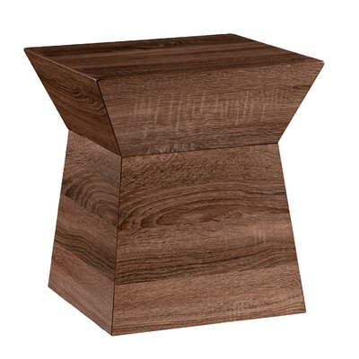 Mercury Row Panthea Geometric Storage End Table