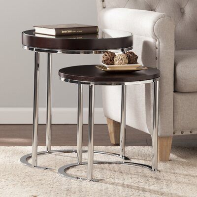 Wade Logan Tommy 2 Piece Nesting Tables