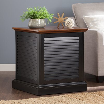 Darby Home Co Katherine Louvered End Table