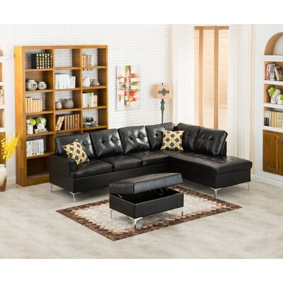 Wildon Home ® Mira Sectional