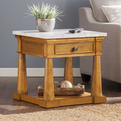 August Grove Skylar End Table
